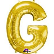 86cm Flat Alphaloon - Gold G