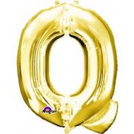 86cm Flat Alphaloon - Gold Q