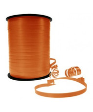 5mm x 460mtr Roll Orange Curl Ribbon