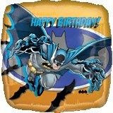 Batman Birthday - 45cm Flat Foil