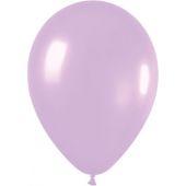 30cm Pearl Lilac Latex - Pkt 100