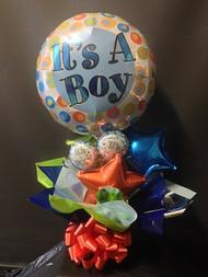 Long lasting air filled Foils Bouquet