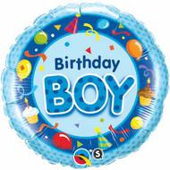 Birthday Boy - 45cm Flat Foil