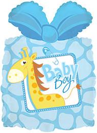 "Flat CTI Shape - 25"" IAB Baby Giraffe"