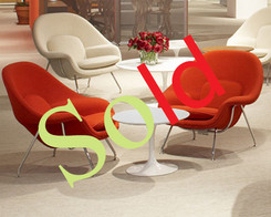 Knoll _ Sarineen coffee table (white laminate)