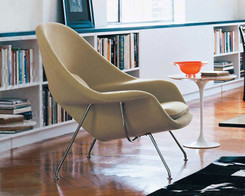 Knoll - Womb Chair (Sand Hopsack)