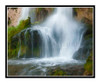 Rifle Falls in Summer in Rifle Falls State Park, Colorado 2250