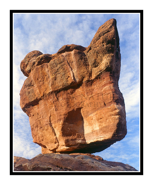 Balanced Rock in Garden of the Gods in Colorado Springs, Colorado 266