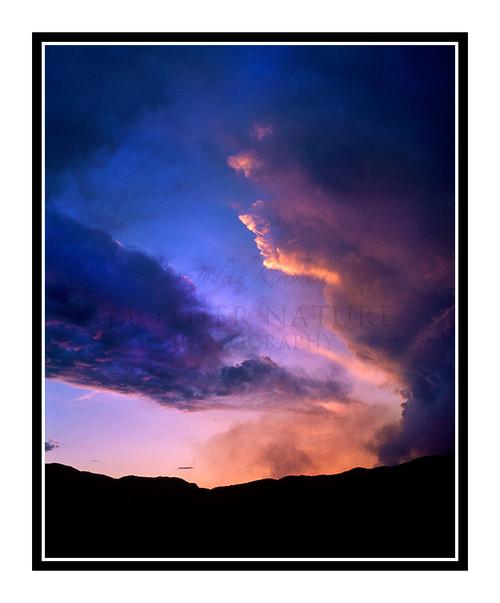 Hayman Fire Smokey Sunset over Garden of the Gods in Colorado Springs, Colorado 322