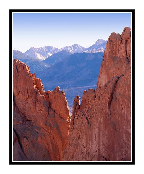 Garden of the Gods' Rocks in Colorado Springs, Colorado 246