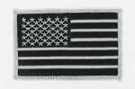 American Flag - B&W