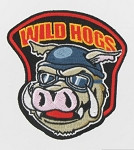 Wild Hogs - Large Back Patch