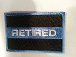 RETIRED-Blue Line patch