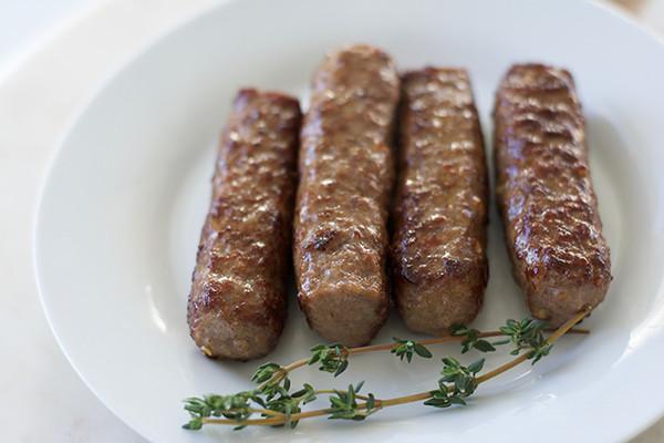 Organic Sweet Sausage
