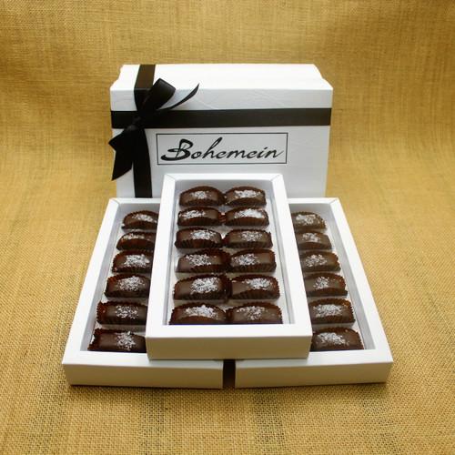 Bohemein 36 chocolate gift Box with 36 Award Winning Sea Salt Caramels.