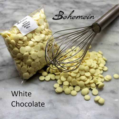 White Chocolate Buttons 250 Grams