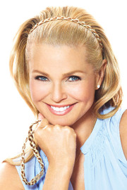 Christie Brinkley Wig - Double Braided Headband (CBDBHB) front 1