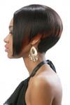 Motown Tress Wig - Garnet HM Side 1