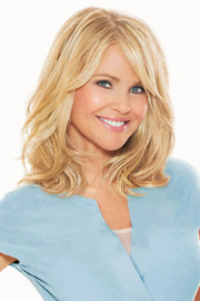 Christie Brinkley Wig - 12 Inch Clip-in Hair Extension (CB12EX) front 1