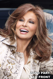 Raquel Welch Wig - Camera Ready front 1
