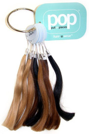 Wigs Color Ring: Putonpieces Human Hair