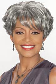 Foxy Silver Wig - Charlotte