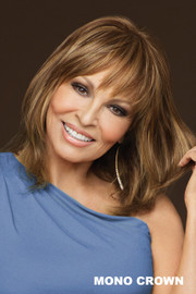 Raquel Welch Wig - Faux Fringe front 1