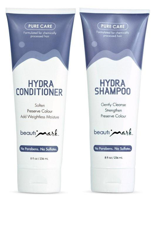 BeautiMark - Daily Duo - Pure Care Shampoo & Conditioner - Human Hair