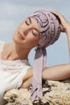 Christine Headwear - Mantra Long Printed Scarf Swirls (0473)