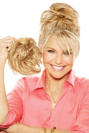 Christie Brinkley Wig - Natural Tone Hair Wrap (CBNTWR) front 2