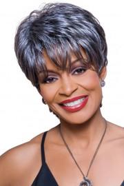 Foxy Silver Wig - Kathy (#10363)