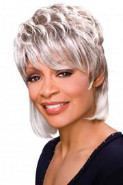 Foxy Silver Wig - Peggy (#10435)