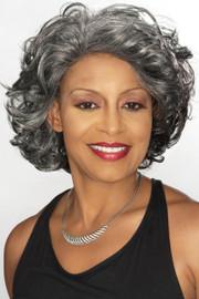 Foxy Silver Wig - Darlene LF