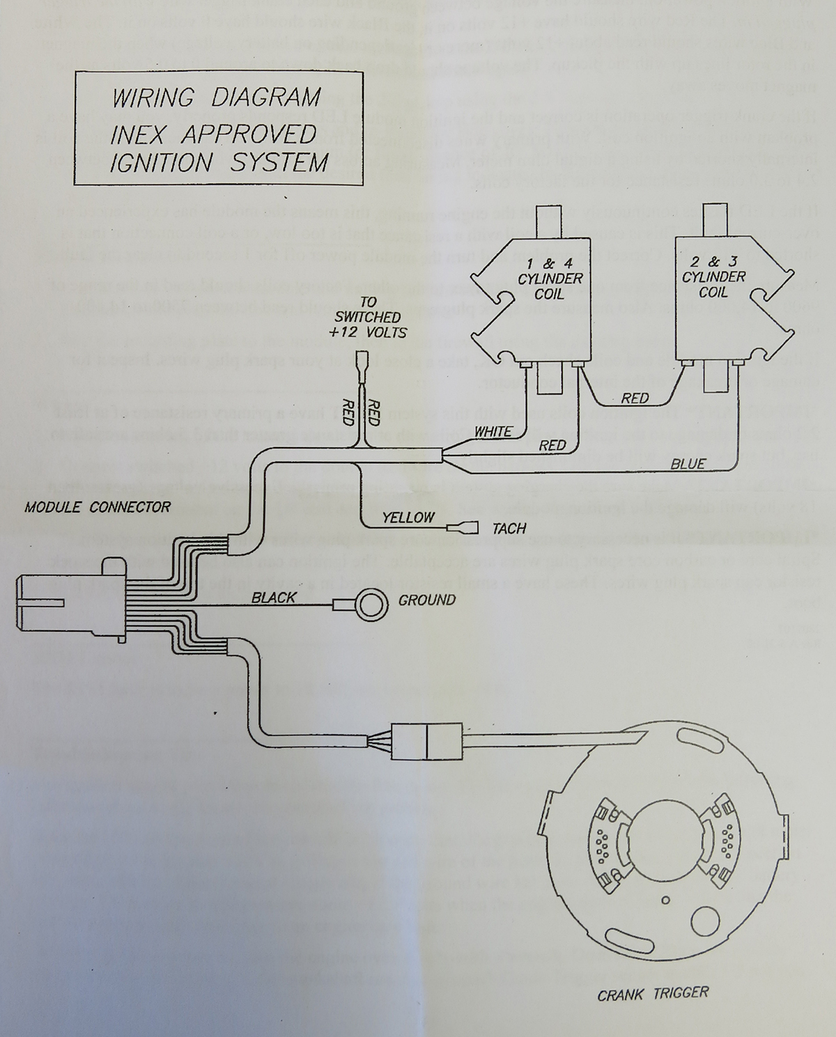 andrews motorsports technical information, engine diagram, race car ignition wiring diagram
