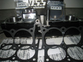Cylinder Kit, Yamaha FJ, 1412cc 84mm Ross Piston & Cylinder Kit