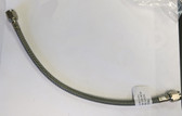 """Legends Race Car, SS Braided Line #4 x 12"""" Straight / Female Both Ends 640012XRP"""