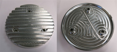 Finned Aluminum Alternator Cover