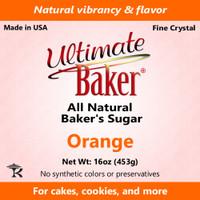 Ultimate Baker Natural Baker's Sugar Orange (1x1lb)