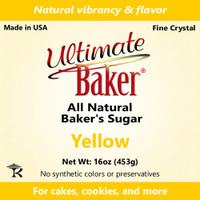 Ultimate Baker Natural Baker's Sugar Yellow (1x1lb)