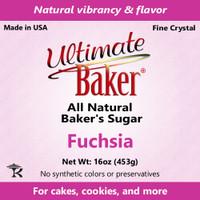 Ultimate Baker Natural Baker's Sugar Fuchsia (1x1lb)