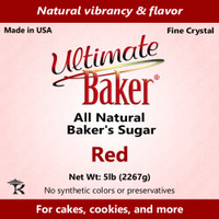 Ultimate Baker Natural Baker's Sugar Red (1x16lb)