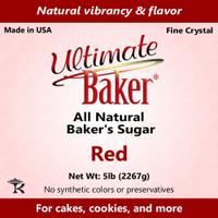 Ultimate Baker Natural Baker's Sugar Red (1x5lb)