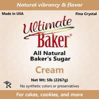 Ultimate Baker Natural Baker's Sugar Cream (1x8lb)