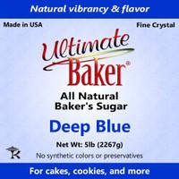 Ultimate Baker Natural Baker's Sugar Deep Blue (1x8lb)