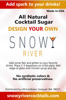 Snowy Made to Order Cocktail Sugar (1x8oz)