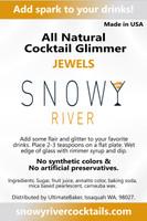 Snowy River Cocktail Sugar Jewels (1x5lb)