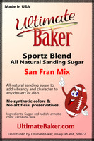 Ultimate Baker Sportz Blend Sanding Sugar San Fran Mix (1x5lb)