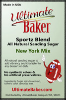 Ultimate Baker Sportz Blend Sanding Sugar New York Mix (1x1lb)