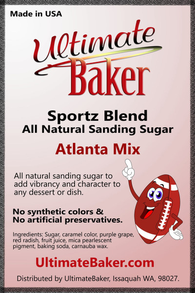 Ultimate Baker Sportz Blend Sanding Sugar Atlanta Mix (1x1lb)