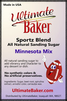 Ultimate Baker Sportz Blend Sanding Sugar Minnesota Mix (1x1lb)